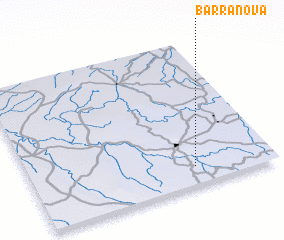 3d view of Barra Nova