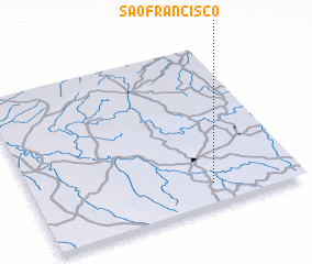3d view of São Francisco