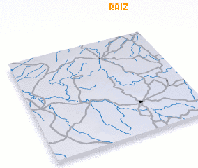 3d view of Raiz