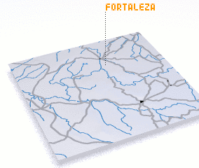 3d view of Fortaleza