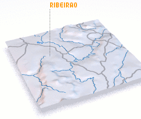 3d view of Ribeirão