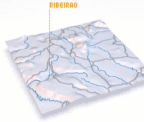 3d view of Ribeirão