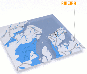 3d view of Ribeira