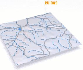 3d view of Ruínas