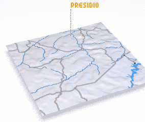 3d view of Presídio