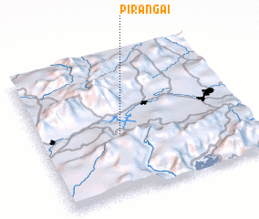 3d view of Pirangaí