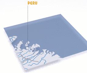 3d view of Peru