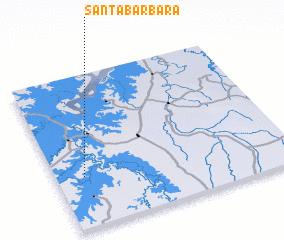 3d view of Santa Bárbara