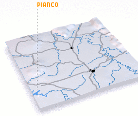 3d view of Piancó