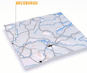 3d view of Arceburgo