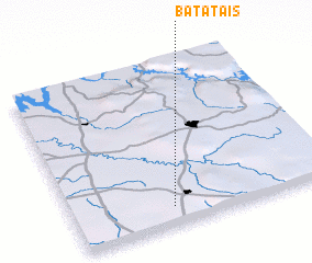3d view of Batatais