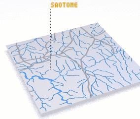3d view of São Tomé