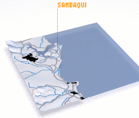 3d view of Sambaqui