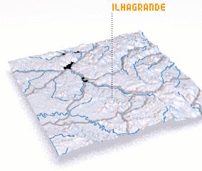 3d view of Ilha Grande