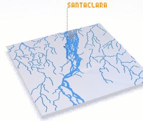 3d view of Santa Clara
