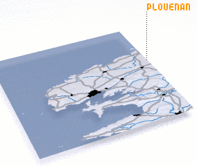 3d view of Plouénan