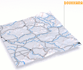 3d view of Doukkara