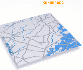 3d view of Somandaga