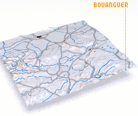 3d view of Bou Anguer
