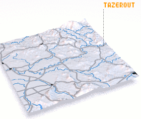 3d view of Tazerout