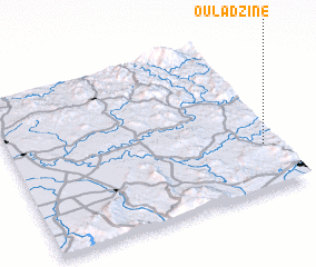 3d view of Oulad Zine
