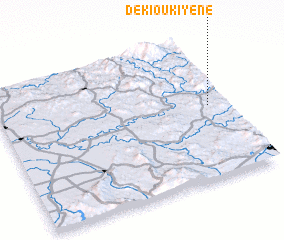 3d view of Dekioukiyene