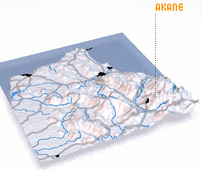3d view of Akane