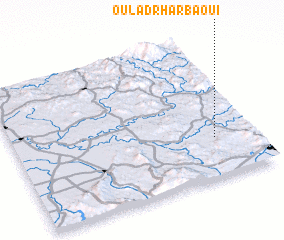 3d view of Oulad Rharbaoui