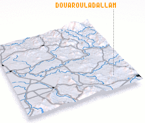 3d view of Douar Oulad Allam