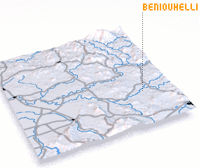 3d view of Beni Ouhelli