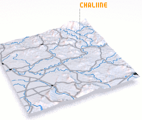 3d view of Chaliine