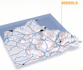 3d view of Honoulo