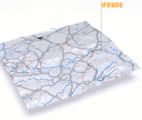 3d view of Ifrane