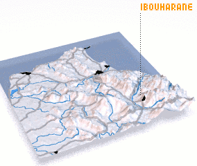 3d view of Ibouharane