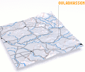 3d view of Oulad Kassem