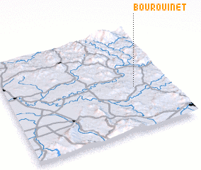 3d view of Bou Rouinet