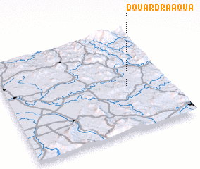 3d view of Douar Draaoua