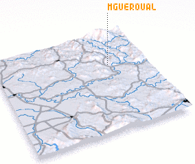 3d view of Mgueroual