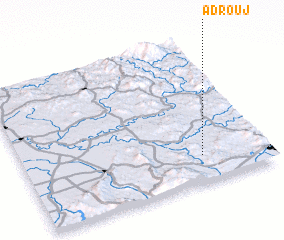 3d view of Adrouj