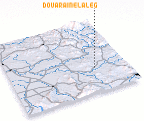 3d view of Douar Aïn el Aleg