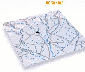 3d view of Vegamián
