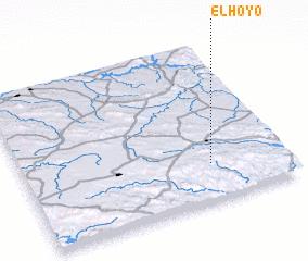 3d view of El Hoyo