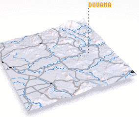 3d view of Douama