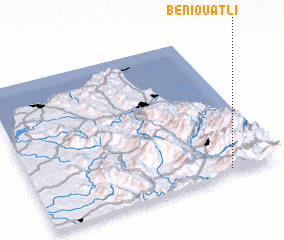 3d view of Beni Ouatli