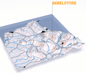 3d view of Akhelfiyine