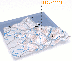 3d view of Issouhanane