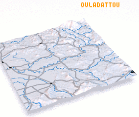 3d view of Oulad Attou