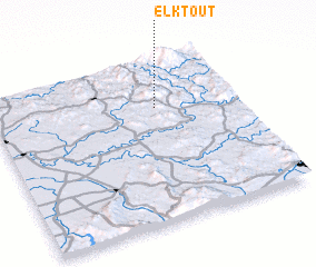 3d view of El Ktout