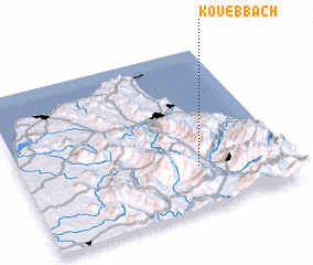 3d view of Kouebbach