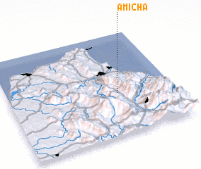3d view of Amicha